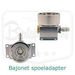 Bajonet Spoeladapter voor reinigen biertap