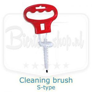 keg coupler cleaning brush s-type