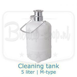 cleaning tank 5 liter m-type