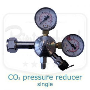 CO2 pressure reducer