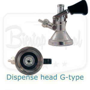 Lindr G-type keg coupler