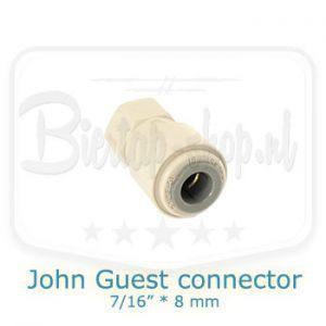 John Guest connector 7/16