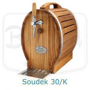 Lindr Soudek 30/K beer dispenser with built in air compressor