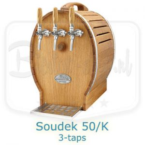 Lindr Soudek 50/K beer dispenser with built in aircompressor
