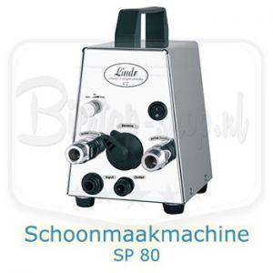 Schoonmaakmachine Lindr SP-80 voor biertap