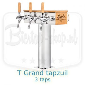 Lindr T-grand tapzuil 3 taps eikenhout