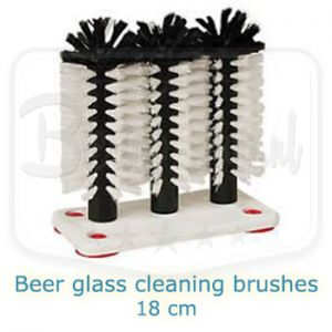 Beer glass cleaning brushes