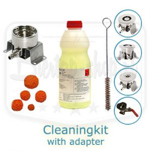 Cleaningkit with adapter of choice