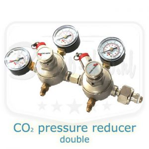 double co2 pressure reducer