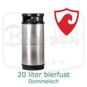 20 liter bierfust Dommelsch