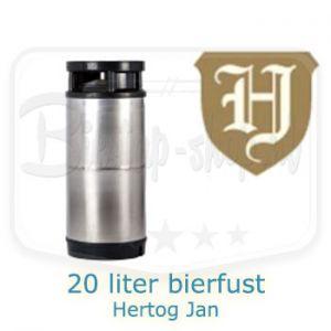 Hertog Jan 20 liter bierfust