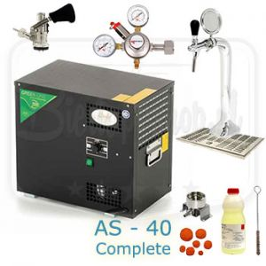 Lindr AS-40 undercounter cooler complete set