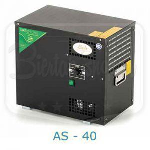 Lindr AS-40 waterbadkoeler greenline