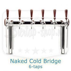 Naked Cold Bridge 6-taps