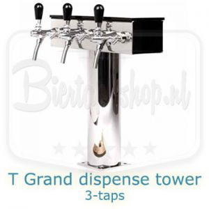 Lindr T-grand dispense tower 3 taps
