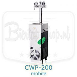Lindr CWP-200 mobile hybride bierkoeler