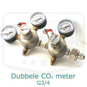 Dubbele CO2 meter Micro matic
