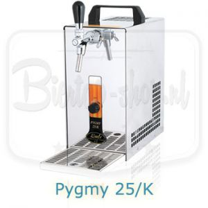 Lindr Pygmy 25/K biertap met ingebouwde luchtcompressor