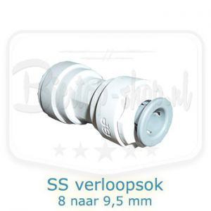 John Guest Verloopsok 8 naar 8,9 mm 8mm super seal